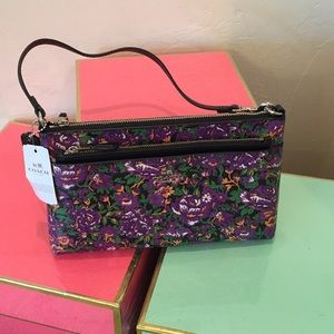 Coach Floral Mini Purse